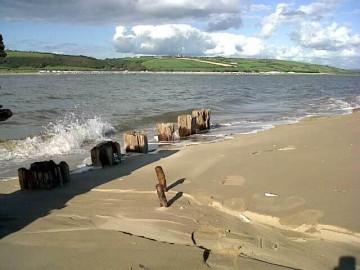 Cefn Sidan shipwreck and views