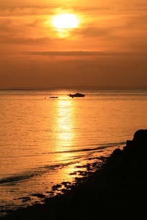 Lovely sunset october half term