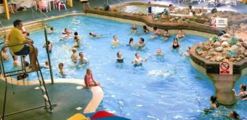 Swimming pool at carmarthen bay